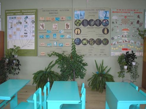 Оформление кабинета биологии и химии